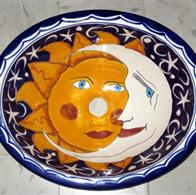 Model Eclipse - Mexican hand painted Sink - Mexikanische Waschbecken
